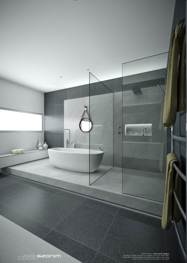 Minosa Design A Real Showstopper Modern Bathroom