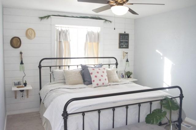 Modern Farmhouse Bedroom Redesign The Mombot