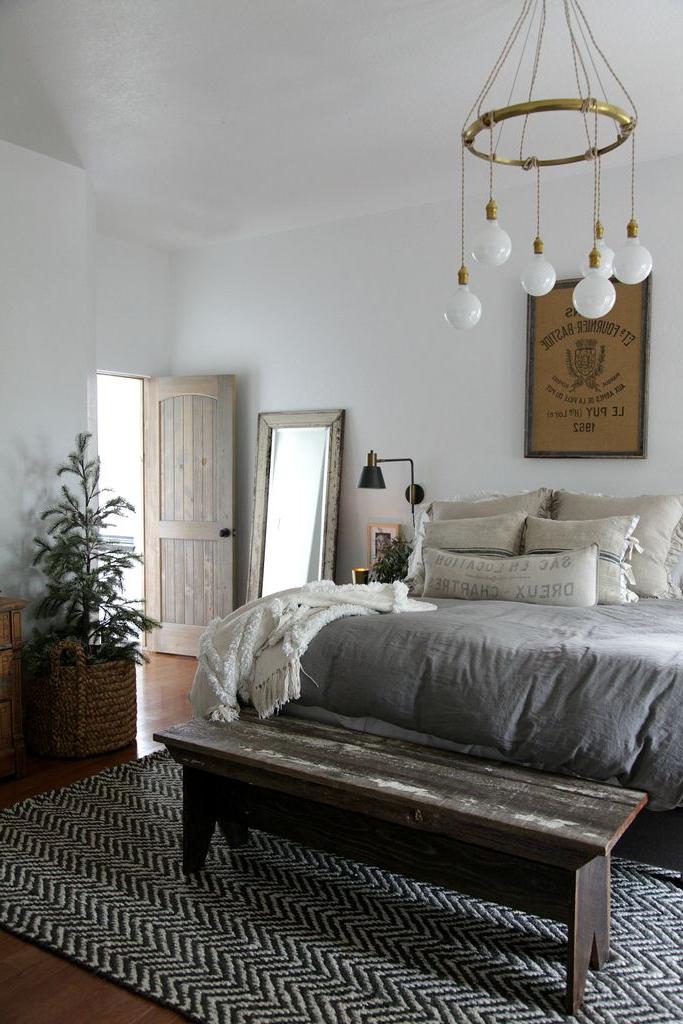 Modern Farmhouse Bedroom Simple Christmas Jeanne