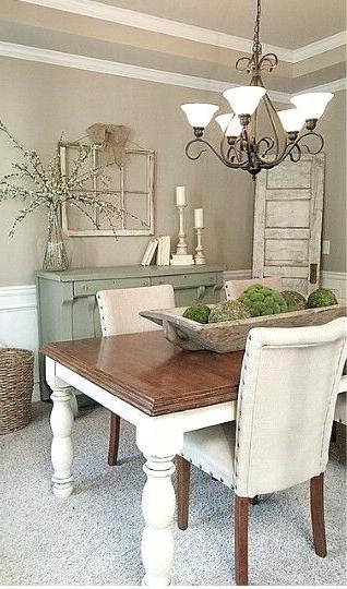 Modern Farmhouse Dining Table Decor Ideas Modern