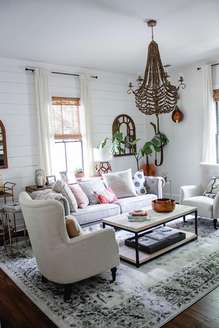 Modern Farmhouse Living Room Home Decor Style Swap
