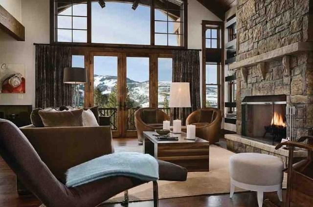 Modern Ideas Rustic Great Room Design Beautiful Living