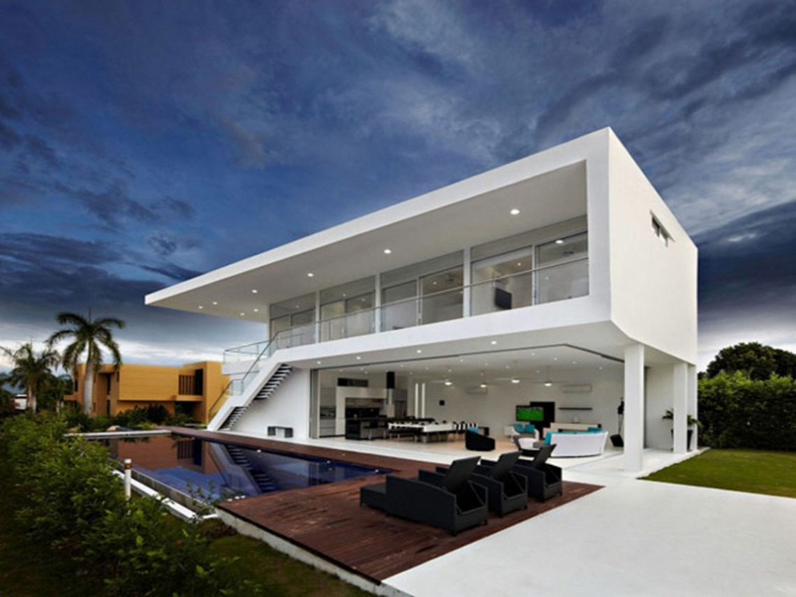 Modern Minimalist House Design Modern Tropical House