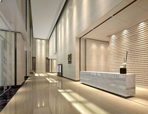 Modern Office Lob Design Commercial Interior Design