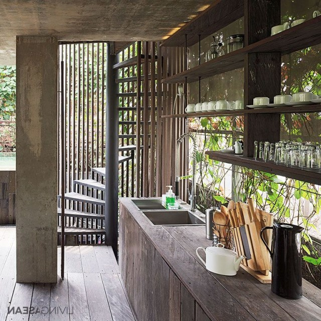Modern Tropical Home In Indonesia Casas Arquitectura