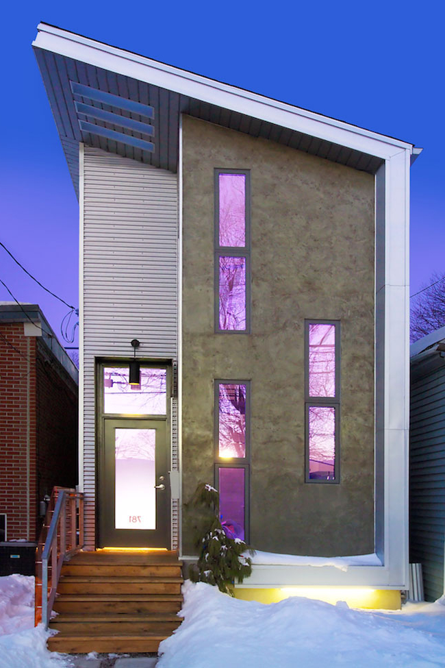 Narrow Modern Infill Tiny House Idesignarch Interior Design Architecture Interior