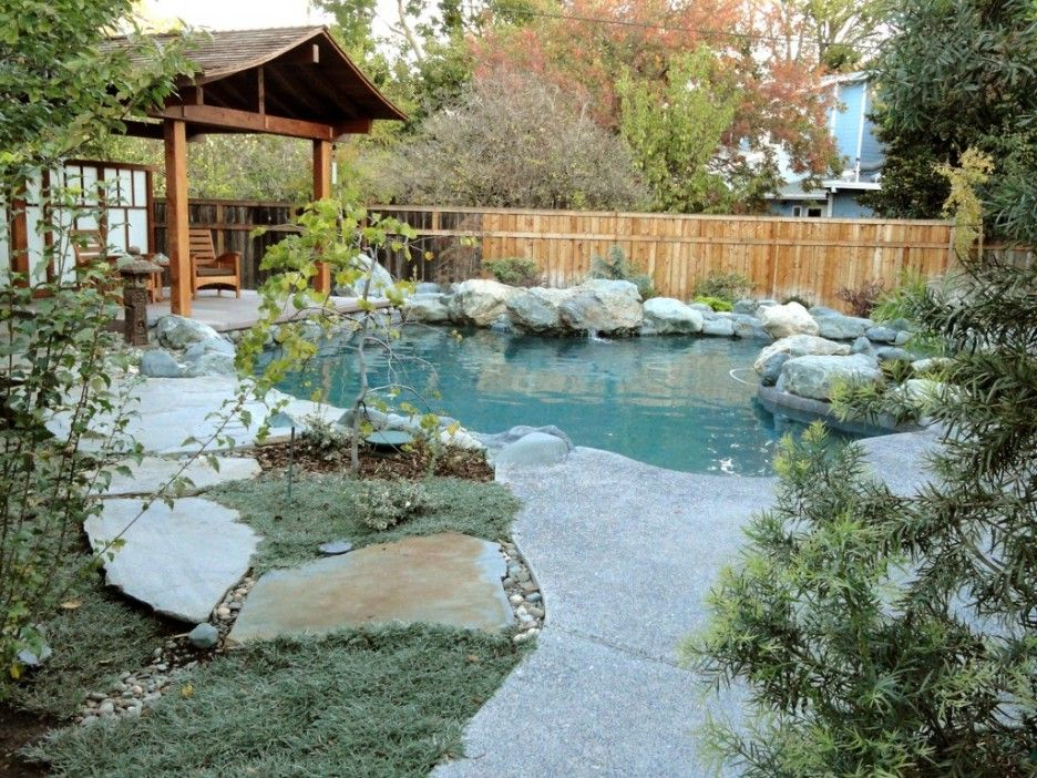 Natural Rock Swimming Pool Designs Inspiration Japanese