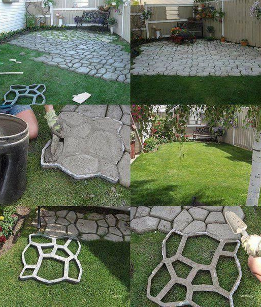 Neat Way To Make An Inexpensive Walkway Or Patio I Wonder