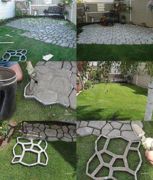 Neat Way To Make An Inexpensive Walkway Or Patio I Wonder