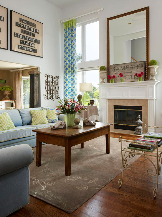 New Home Interior Design House Tours Old Meets New
