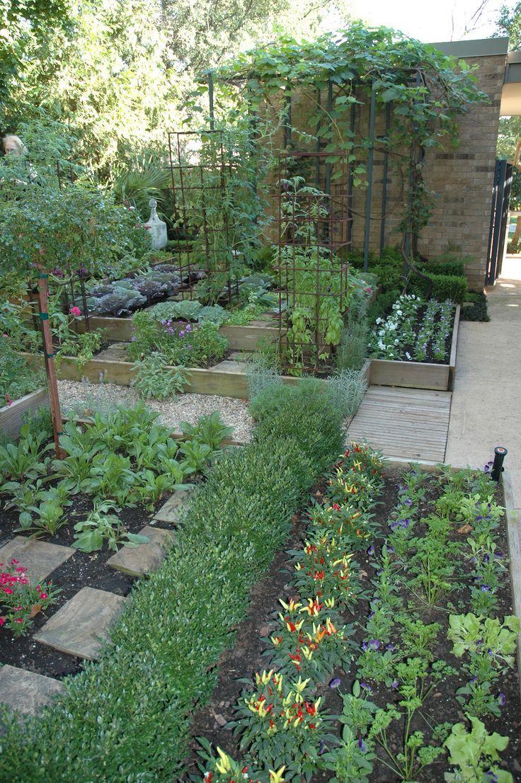 Oklahoma Kitchen Garden Vegetable Garden Design Urban