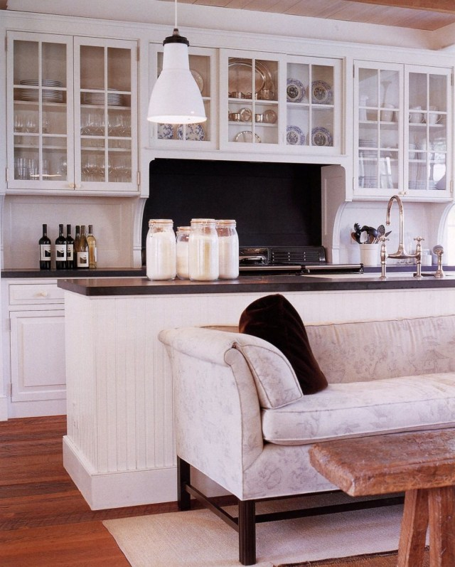 Open Cabinets Above Range Sofa Next To Island A Moment