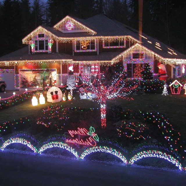 Outdoor Lighted Christmas Decorations Outdoor Christmas
