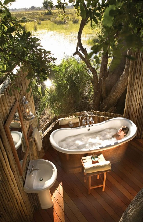 Outside Is Better Outdoor Bathtub Outdoor Bathrooms