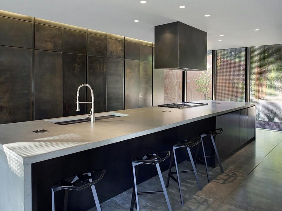 Outstanding 28 Beautiful Black Kitchen Design Ideas You