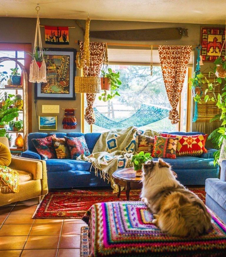 Plant Life Series A Colorful Southwestern Home Boho