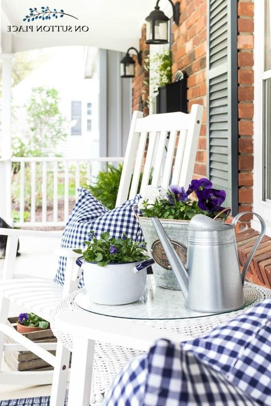 Porch Planter Ideas And Inspiration Maison De Pax