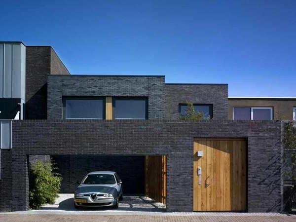 Protective Brick Housing Villa Vollebregt Jam Architect
