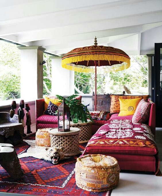 Rich Jewel Tones Boheme Style Home Goods Decor