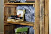 Rustic Industrial Shelf Made With Pallet Wood Httpbec4 Beyondthepicketfenceblogspot