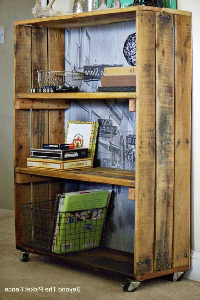 Rustic Industrial Shelf Made With Pallet Wood Httpbec4 Beyondthepicketfenceblogspot