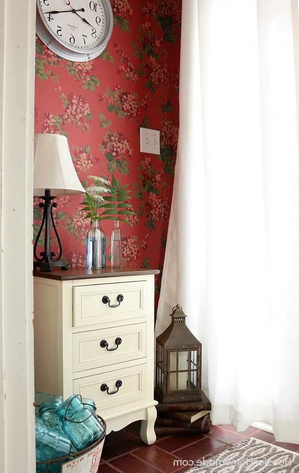 Small Foyer Decorating Ideas Hoosier Homemade