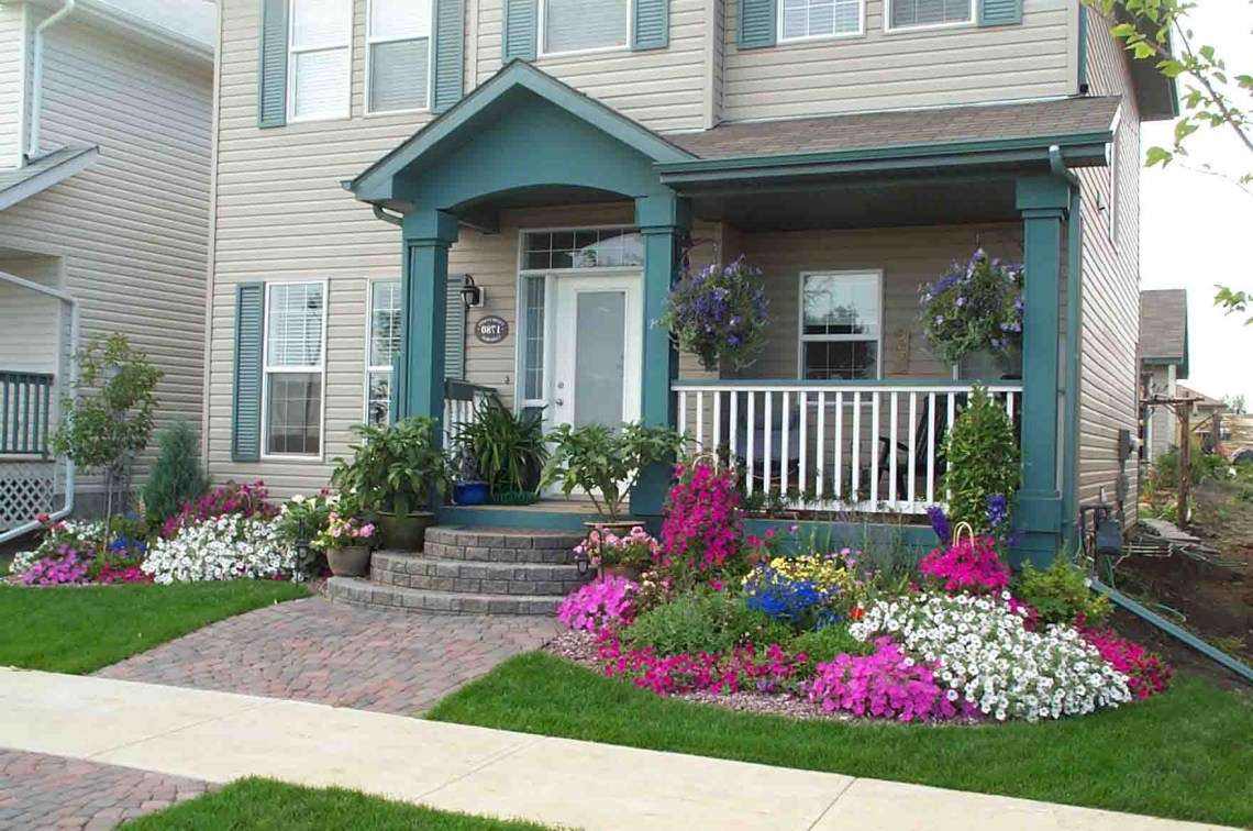Small Front Yard Landscaping Ideas With Rocks Best Perfect