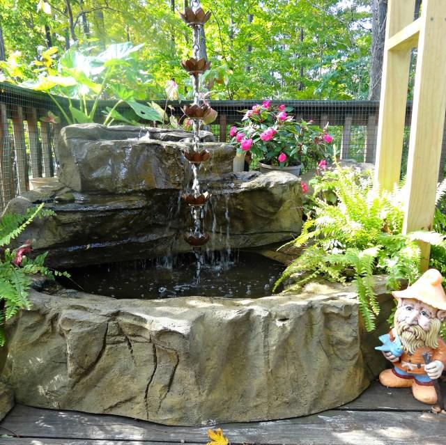 Small Garden Pond Backyard Ponds Landscaping Patio Gardens