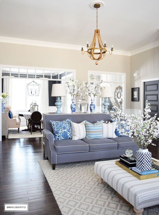 Spring In Full Swing Home Tour 2017 Coastal Living Rooms