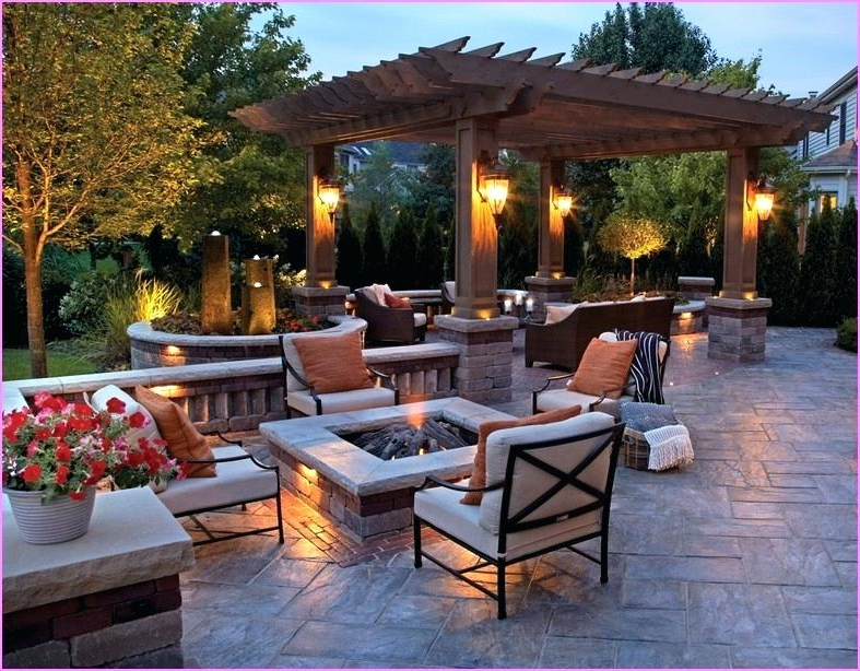 Square Fire Pit Design Ideas Brilliant Backyard With Pits