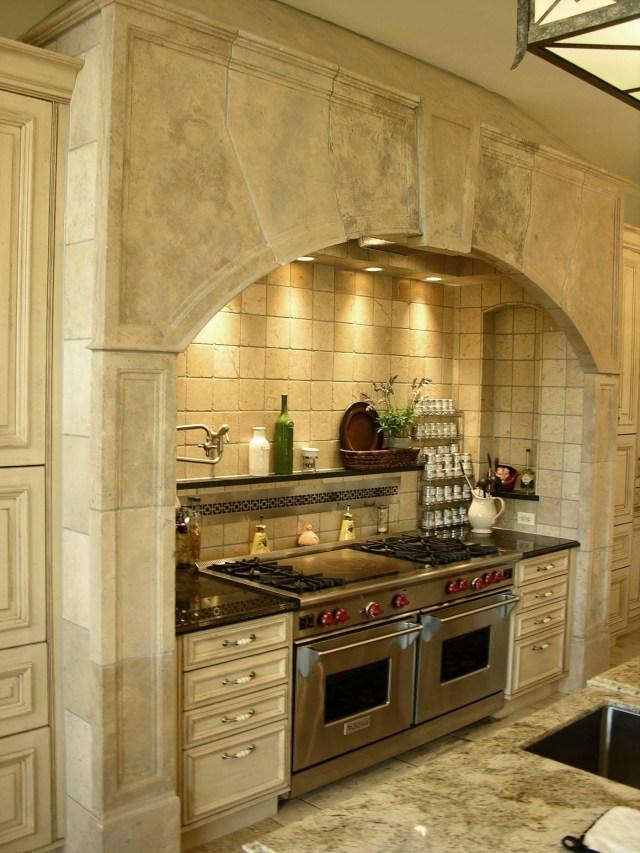 Stone Range Hoods Kitchen Hearth 527 Materials
