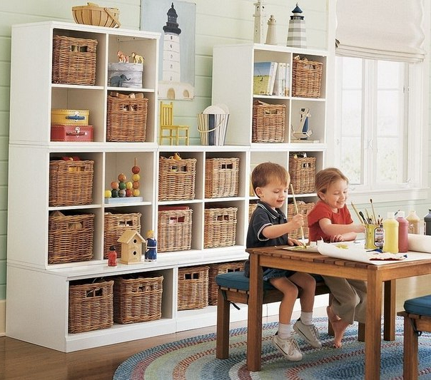 Storage Ideas For Kids Bedrooms Home Decorating Ideas