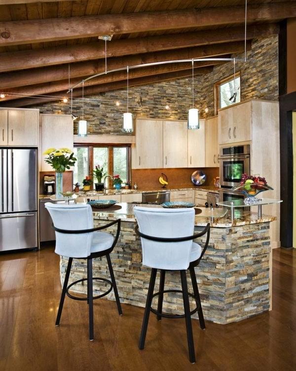 Stylish Stone Kitchen Designs Little Piece Of Me