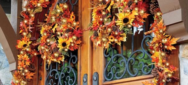 Thanksgiving Front Porch Decorations Diy Decor Ideas