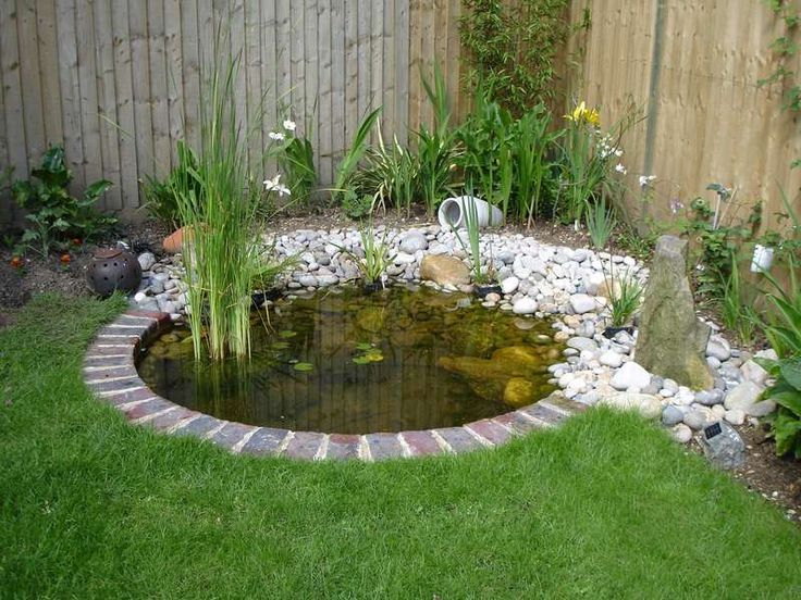 The 25 Best Small Garden Ponds Ideas On Pinterest Ponds