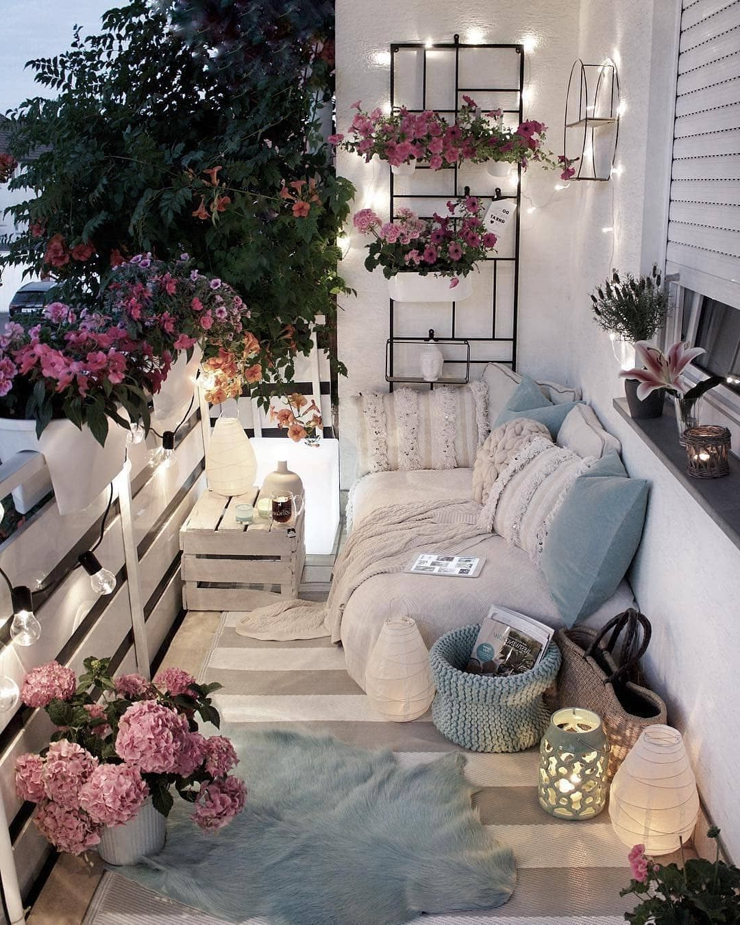 The Best Decorated Small Outdoor Balconies On Pinterest
