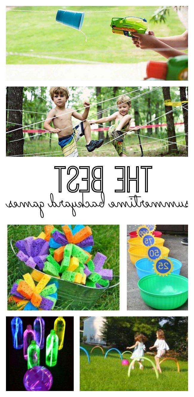 The Best Summertime Backyard Games Backyard Games