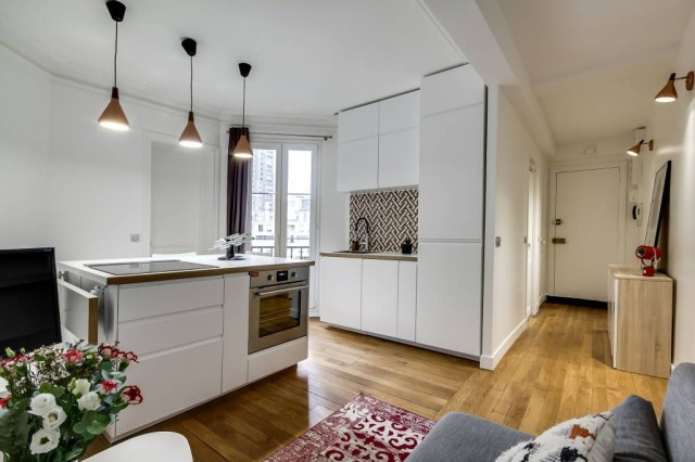 The Incredible 50m2 Apartment With Images Open Kitchen
