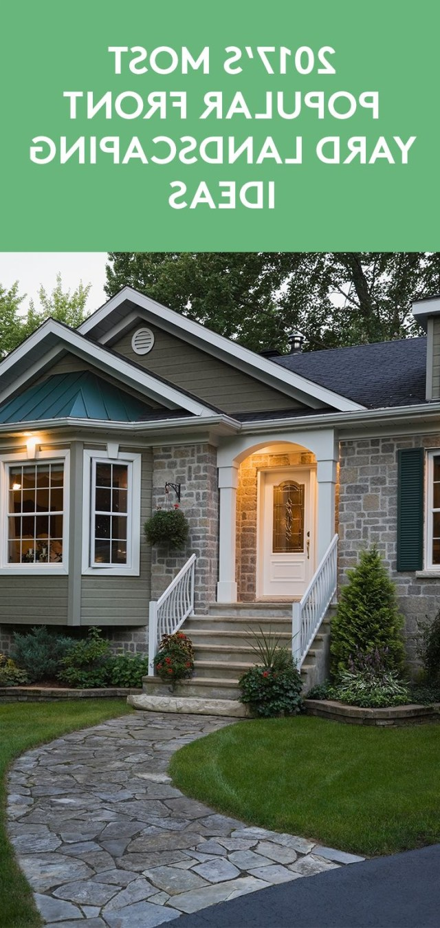 The Most Popular Curb Appeal Updates For 2017 Yard