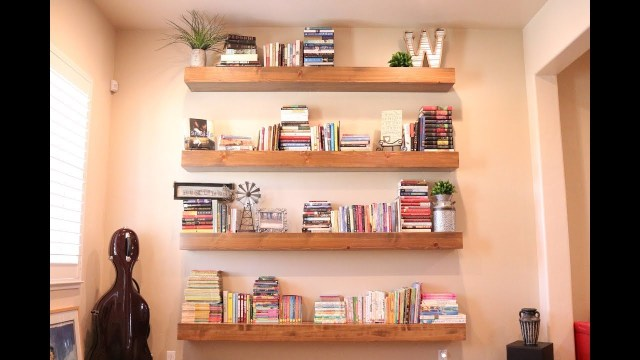 The Only Diy Floating Shelf Video Youll Ever Need