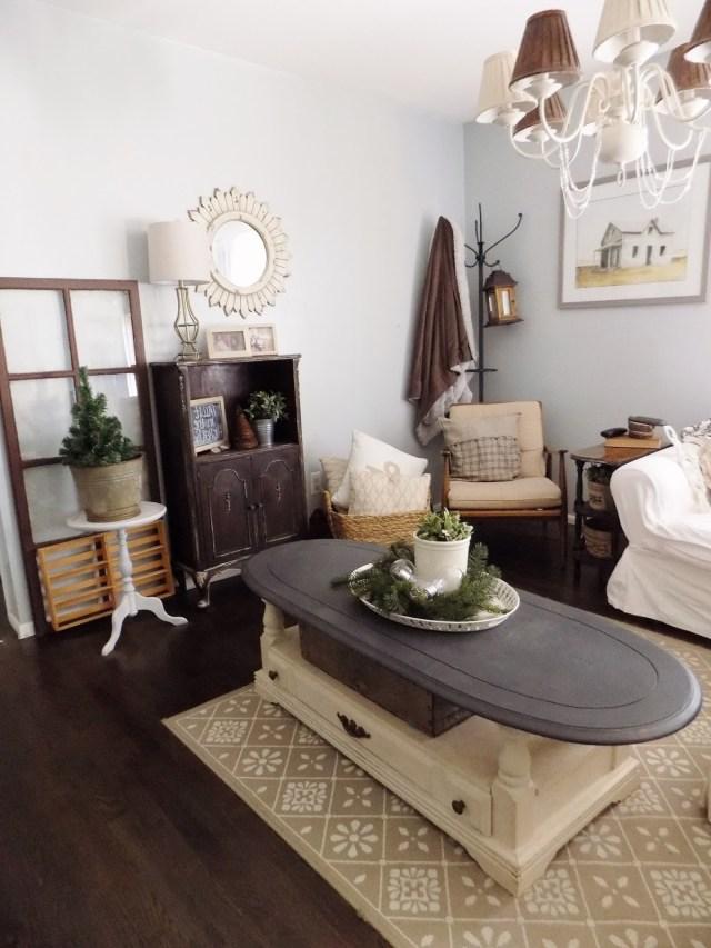 The Quaint Sanctuary Winter Living Room Decor
