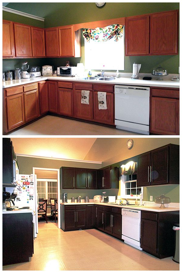 These Kitchen Cabinets May Look Brand New But Wait Til