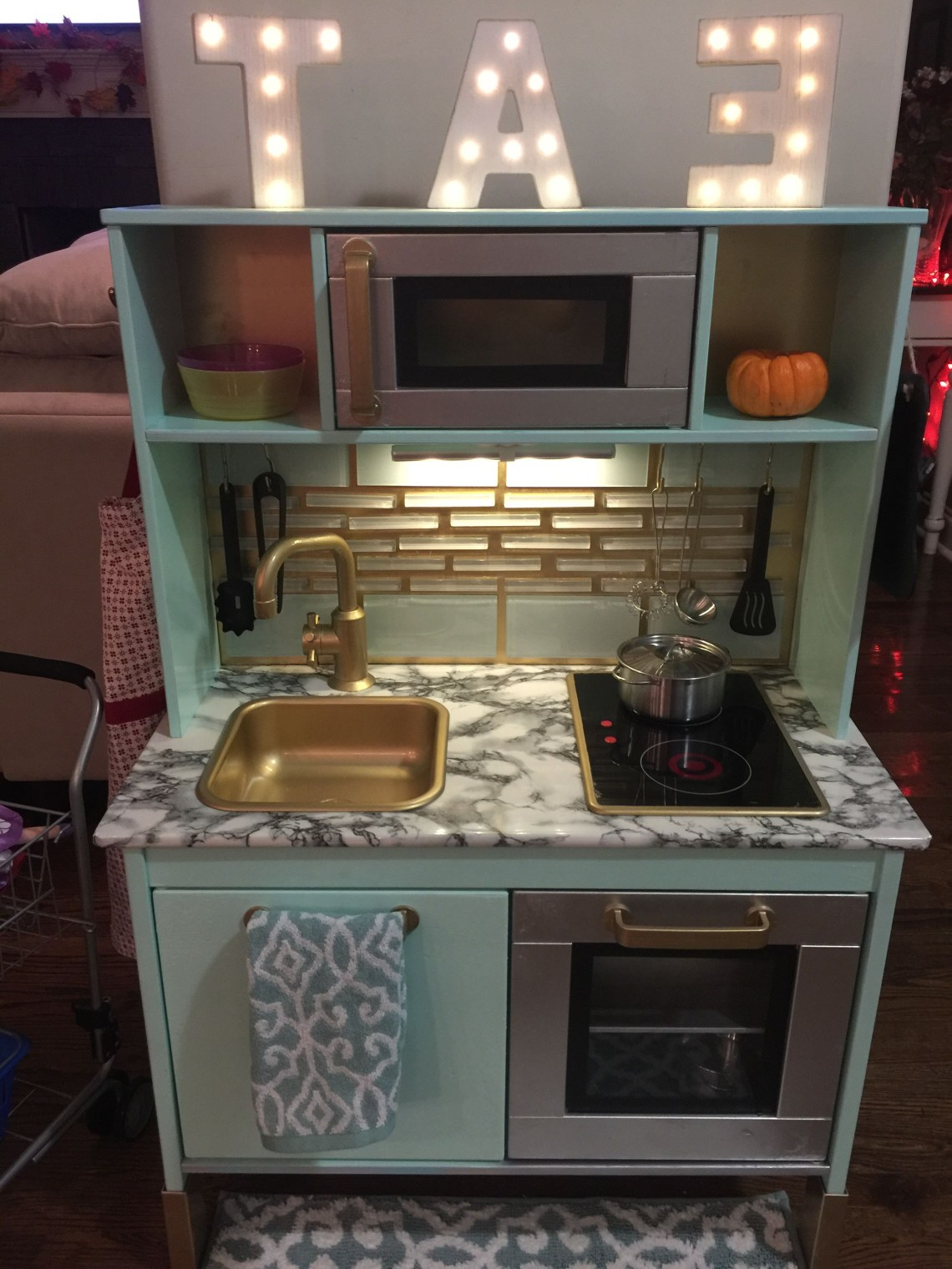 This Kitchen Set From Ikea Turned Out Amazing I Painted