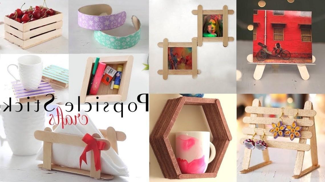 Top 10 Diy Popsicle Stick Craft Compilation Craft Ideas