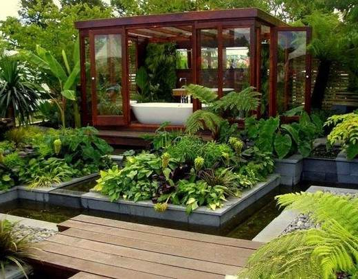 Top 10 Fancy Natural Outdoor Bathrooms Beauty Backyard