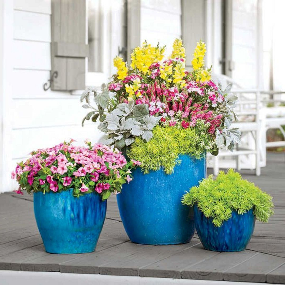 Top 15 Patio Decoration With Beautiful Flower Ideas