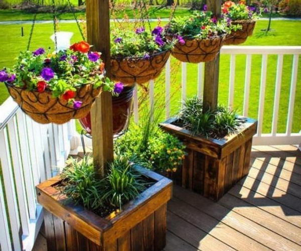 Top 5 Beautiful Balcony Design Ideas 2017