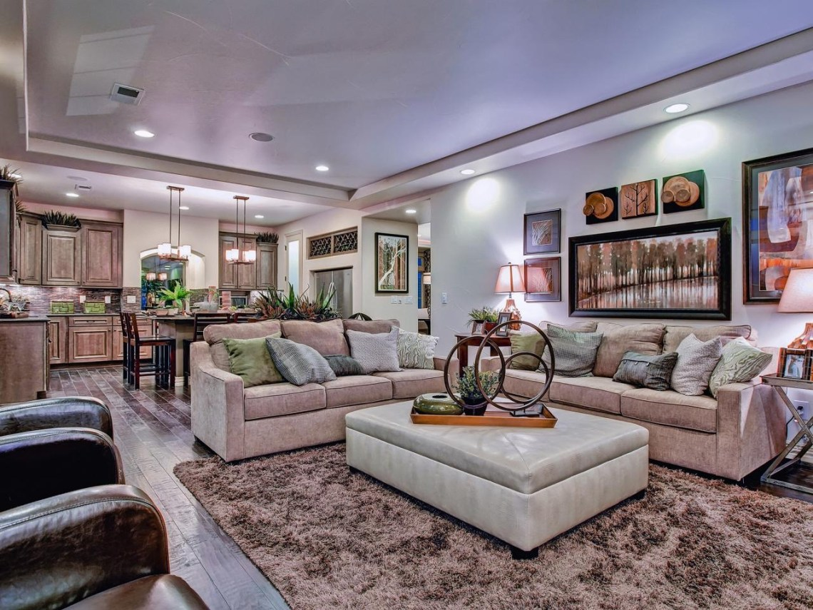 Townhouse Kitchen Remodel Ideas Rectangular Living Room