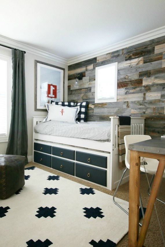 Traditional Rustic Boys Bedroom Design A Thoughtful