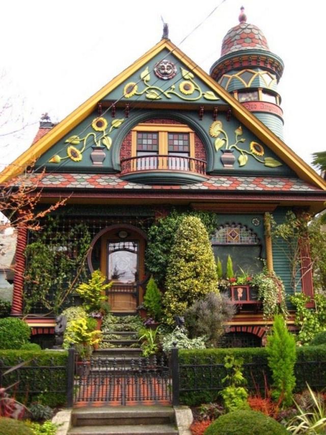 Unique And Best 10 Real Fairytale Cottage Design Ideas